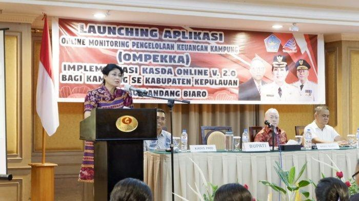Sitaro Gunakan Aplikasi Online Monitoring Pengelolaan Keuangan Kampung