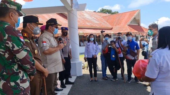 Pemkab Talaud Salurkan Bantuan Kepada Warga Terdampak Bencana