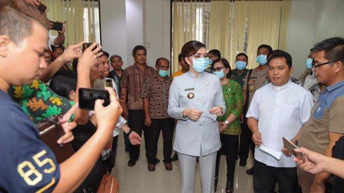 Perangi Virus Corona Bupati Tetty Paruntu Anggarkan Rp 2,3 Miliar