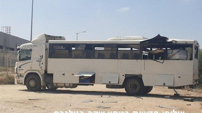 Mukjizat Bagi 30 Tentara Israel, Mereka Tinggalkan Bus Beberapa Detik Sebelum Hamas Meledakkannya