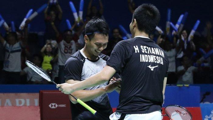 Jadwal BWF World Tour Finals 2019, Ahsan/Hendra dan Ginting Jadi Peluang Indonesia Raih Gelar