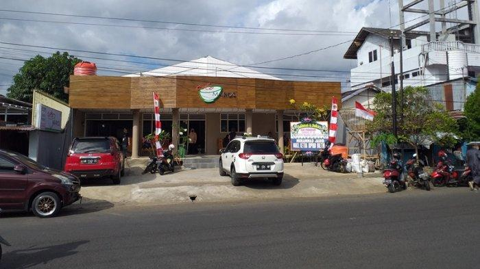 Cabang ketiga Coto Maros yang terletak di Jalan 14 Februari, Teling Atas, Wanea, Manado, Sulawesi Utara, Jumat (13/8/2021)