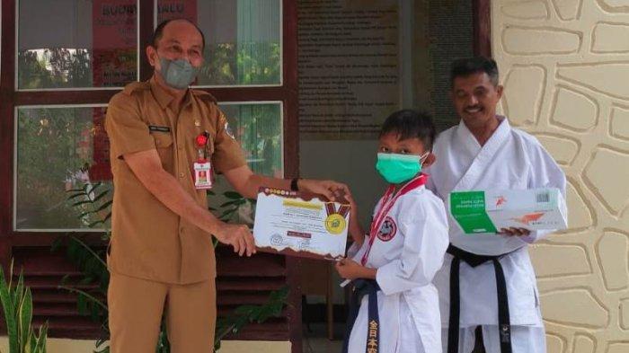Cahaya Damopolii Juara 1 Lomba Karate Kata Tingkat Internasional, Harumkan Nama Kota Kotamobagu