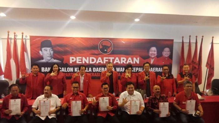 52 Nama Calon Kepala Daerah PDIP Bersaing Ikut FPT