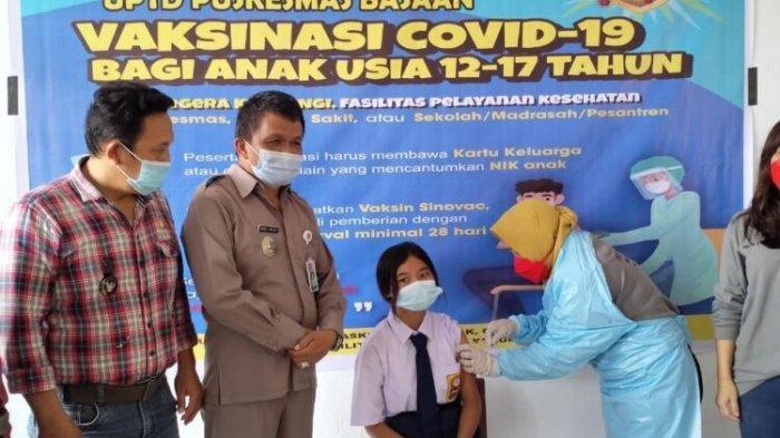 Pemerintah Kecamatan Ratotok dan UPTD Puskesmas Basaan Kompak Gelar Vaksin Anak