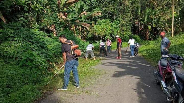 Camat Ratahan Timur Mitra Pimpin Jumat Bersih di Wioi Tiga