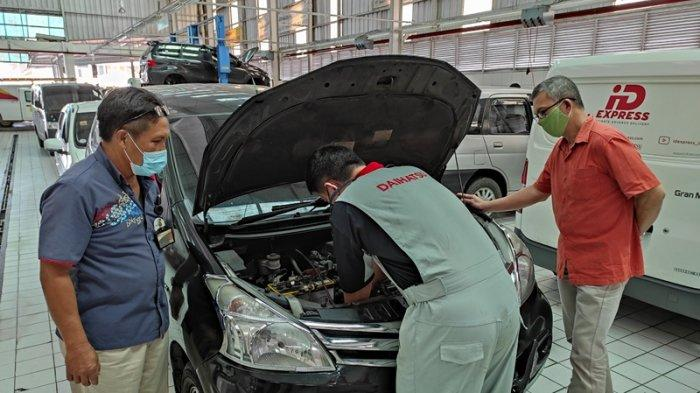 Bengkel Daihatsu Beri Layanan Terbaik, Konsumen Merek Lain pun Datang Servis