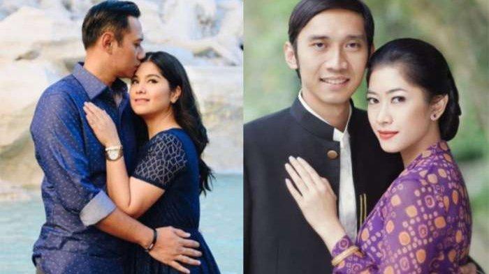 Cantiknya Duo Menantu SBY, Annisa Pohan dan Aliya Rajasa dengan Outfit Serba Hitam