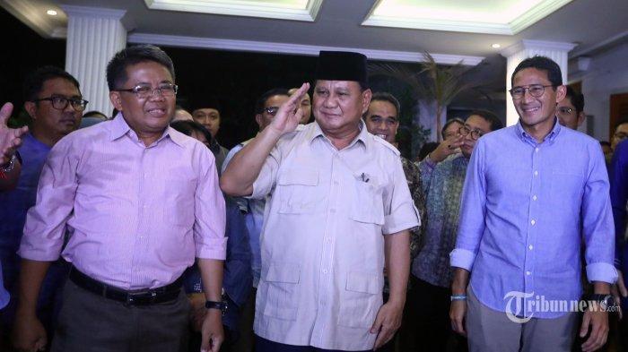 Survei LSI: Ini Capres 2024, Prabowo-Sandi-AHY Masuk Bursa