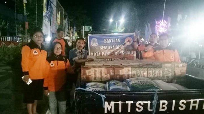 Pemkot Manado Salurkan Bantuan Tahap Pertama di Palu dan Donggala