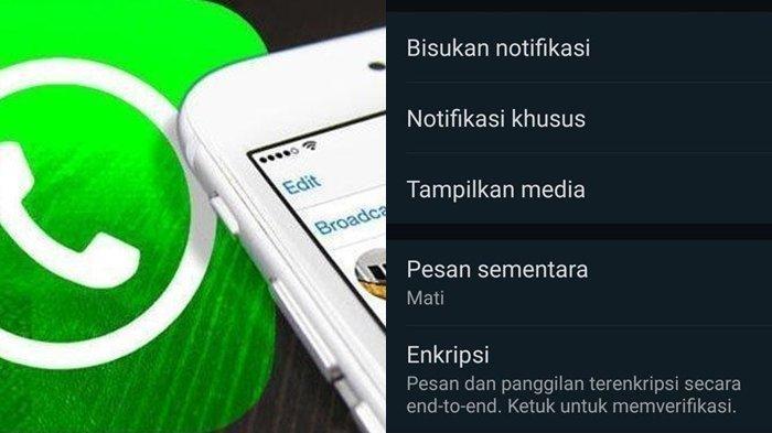 Tak Banyak yang Tahu, Trik Mengaktifkan Fitur Pesan Sementara di WhatsApp, Begini Caranya