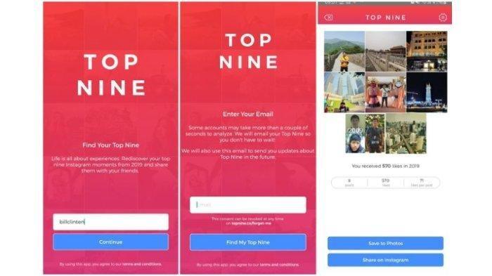 Gratis dan Mudah, Cara Membuat Best Nine #bestnine2019 dengan Topnine.co di iPhone - Android
