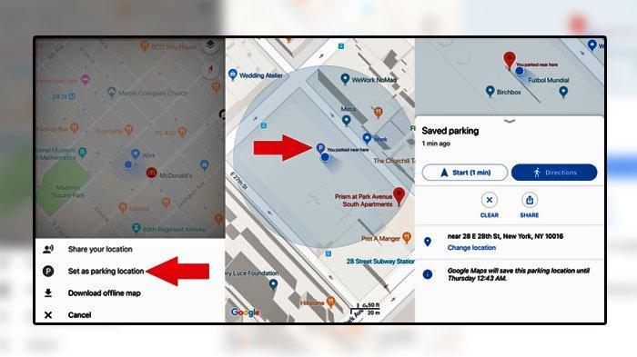 Fitur Google Maps Belum Diketahui Banyak Orang, Ada 7, Satu di Antaranya Menyimpan Tempat Parkir
