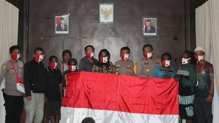 Anggota KKB Papua Kembali ke NKRI untuk Hidup Normal, Bupati Puncak Jaya Siapkan Pekerjaan