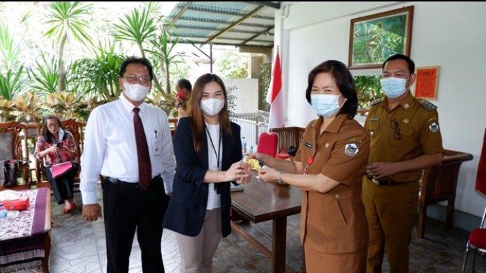 Didampingi Ketua TP-PPK, Wali Kota Tomohon Caroll Senduk Terima Audiensi Kanwil dan Kanca BRI Manado