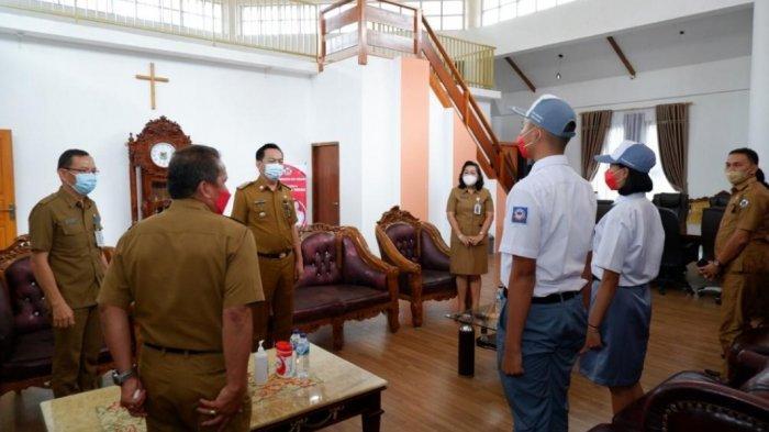 Caroll Senduk Dukung PenuhTesalonica Supit danAlexander Lengkey di Seleksi Paskibraka Provinsi