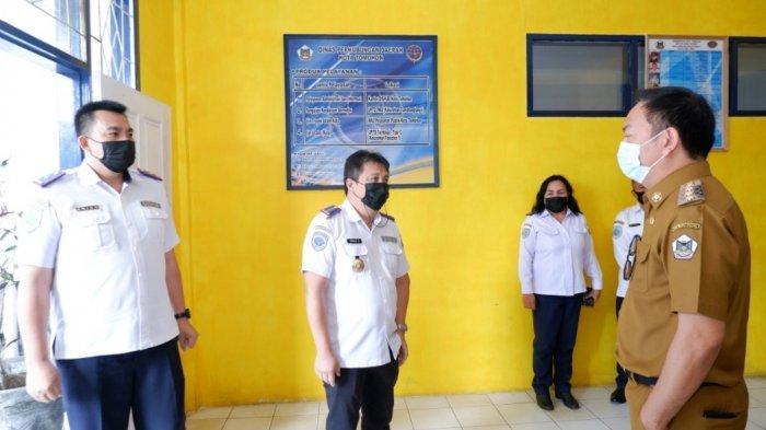 Sidak Sejumlah Kantor SKPD, Ini yang Diingatkan Wali Kota Tomohon Caroll Senduk