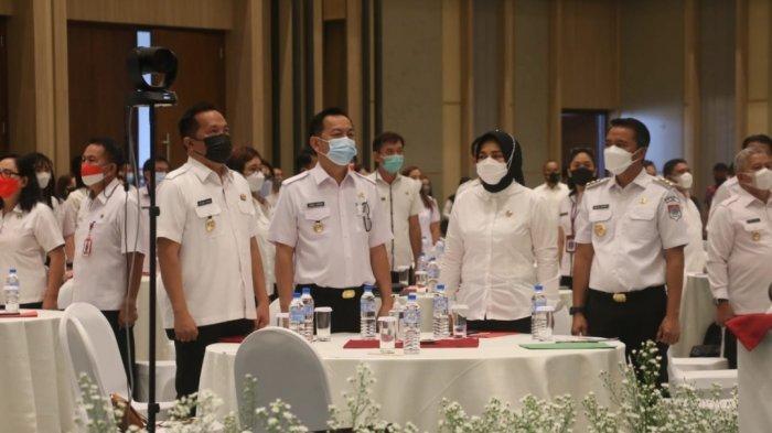 Wali Kota Tomohon Caroll Senduk Pastikan Siap Tindaklanjut Hasil Rakorev Penanganan Stunting