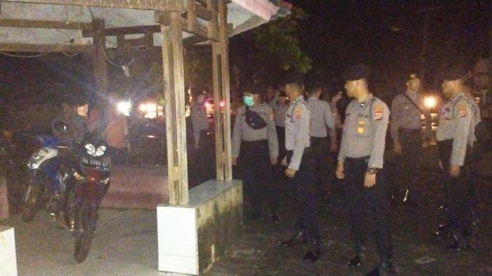BREAKING NEWS, Cegah Covid-19 Polres Bolsel Pulangkan Masyarakat Nongkrong di Alun-Alum Molibagu
