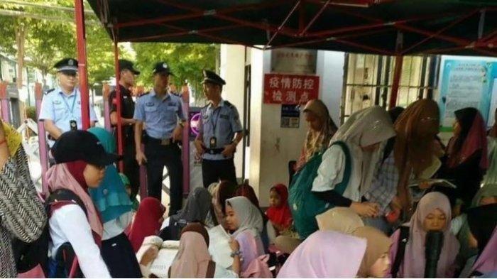 ChinaLarangMuslim Utsul di Hainan Pakai Jilbab,Gambar dan Video Beredar di Medsos