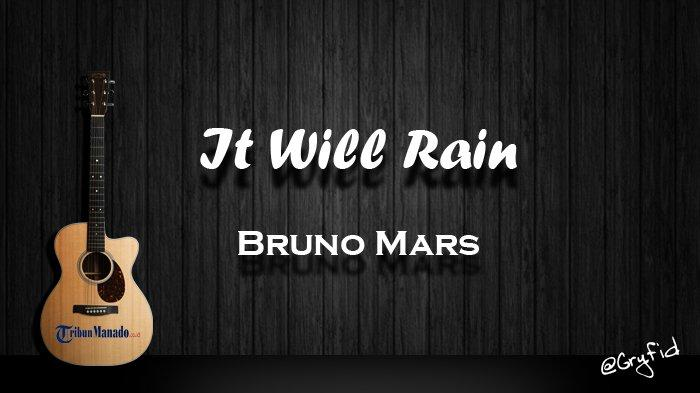 Chord Gitar Lagu 'It Will Rain' - Bruno Mars, Kunci Dasar dari C Mudah Dimainkan