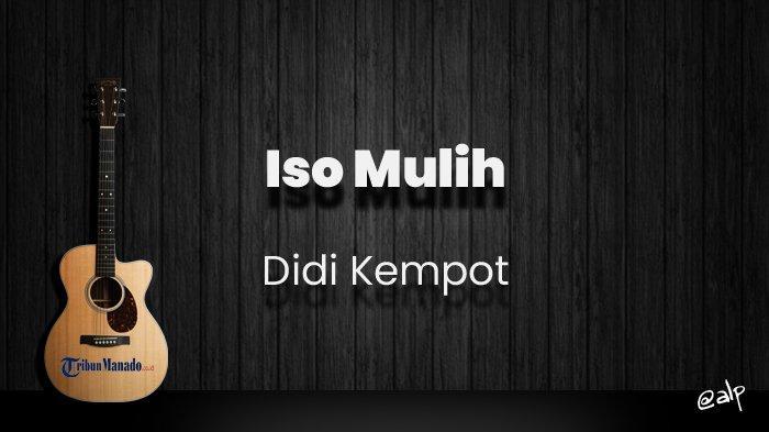 Chord Ora Iso Mulih - Didi Kempot, Kunci Gitar Dasar dari C, Lirik Lagu Mak Bapak Aku Ra Biso Mulih