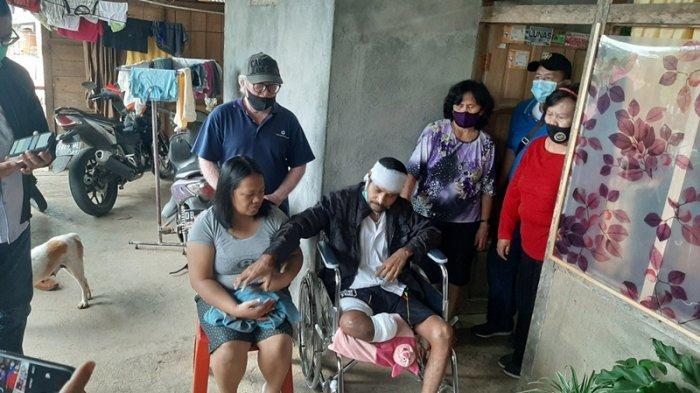 Chrissolid Wihyarwari saat dijumpai di rumahnya belum lama ini