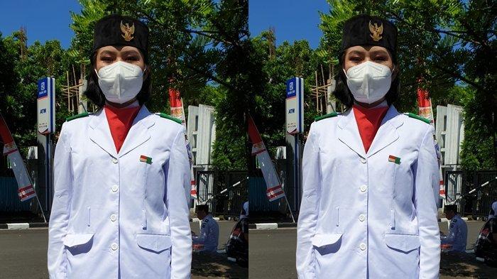Christania Baginda, Paskibra Asal Sitaro, Berharap Indonesia Cepat Pulih dari Pandemi