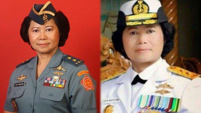 Sosok Christina Maria Rantetana, Jenderal Wanita Pertama AL se-ASEAN, Pernah Bertugas di DPR