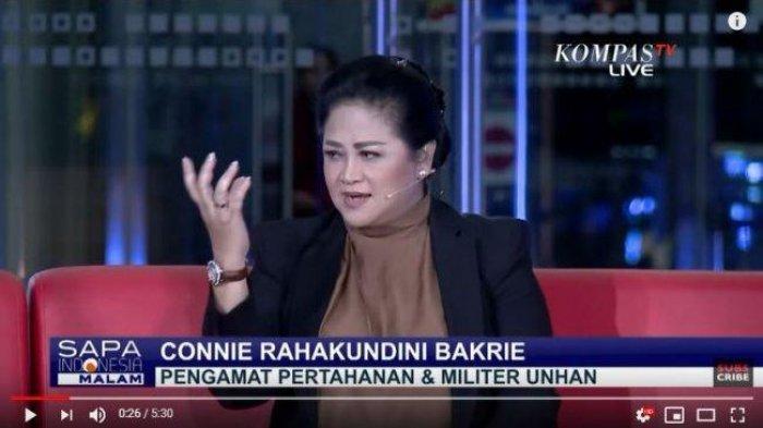 SOSOK Connie Rahakundini Bakrie, Pengamat Militer yang Sebut Mr M Mafia Alutsista, Direspons Prabowo
