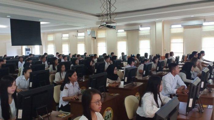 Rekapitulasi Jumlah Pelamar CPNS Pemerintah Provinsi Sulut, 491 Tidak Memenuhi Syarat