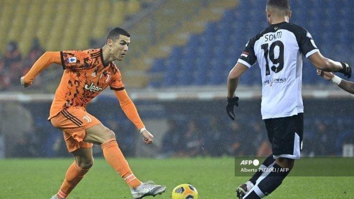 Hasil Udinese vs Juventus: Cristiano Ronaldo Selamatkan Nyonya Tua Lewat Brace di 10 Menit Akhir