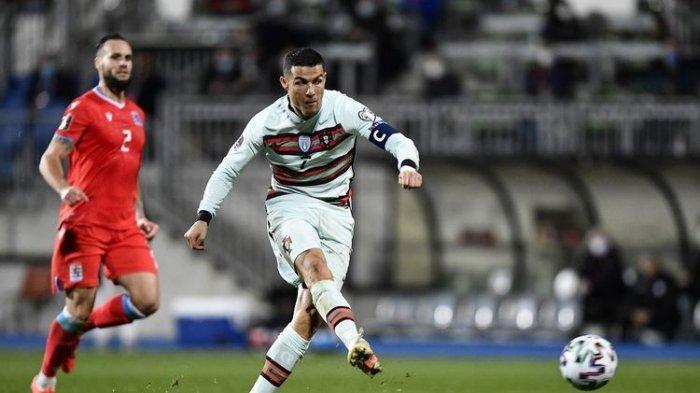 Hasil Kualifikasi Piala Dunia Luksemburg vs Portugal, Ronaldo Sukses Cetak Gol, Bawa Pimpin Klasemen