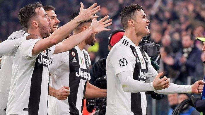 VIDEO - Latihan Bersama Juventus, Cristiano Ronaldo Alami Momen 'Sial'