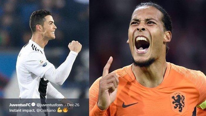 Jadwal dan Prediksi Final UEFA Nations Portugal vs Belanda, Menunggu Peran Ronaldo dan van Dijk