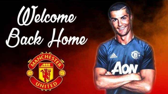 Cristiano Ronaldo Pindah ke <a href='https://manado.tribunnews.com/tag/manchester-united' title='ManchesterUnited'>ManchesterUnited</a>, Juventus dan Red Devils Sepakat, Dikontrak 2 Tahun.