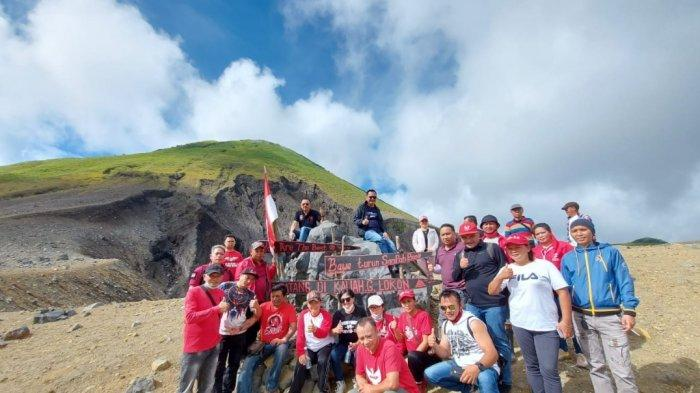 Mendaki Gunung Lokon, CS-WL Pikirkan Pembangunan Fasilitas Penunjang