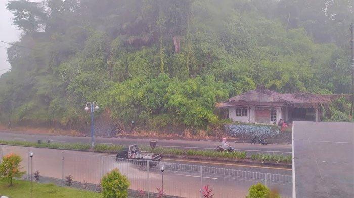 Cuaca di Kairagi Selasa 23 Maret 2021.