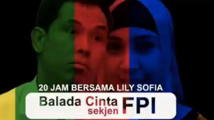 Cuplikan video 'Balada Cinta Sekjen FPI' diduga Munarman check-in hotel bersama perempuan.