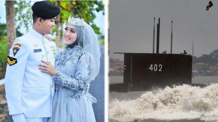 Curhat Mita Sofia Kurniaviratama, istri Sertu Bah Yoto Eki Setiawan merupakan awak kapal selam KRI Nanggala 402.