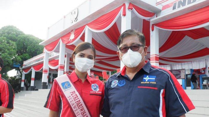 Cynthia Pangalila, Utusan Sulut di Pemilihan Putri Pariwsata Indonesia Promosikan KEK Likupang