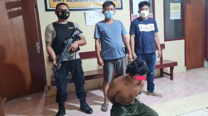 Aniaya Orang tua dan Ancam Bakar Rumah, Pemuda Talaud Ini Digelandang Ke Mapolsek Beo