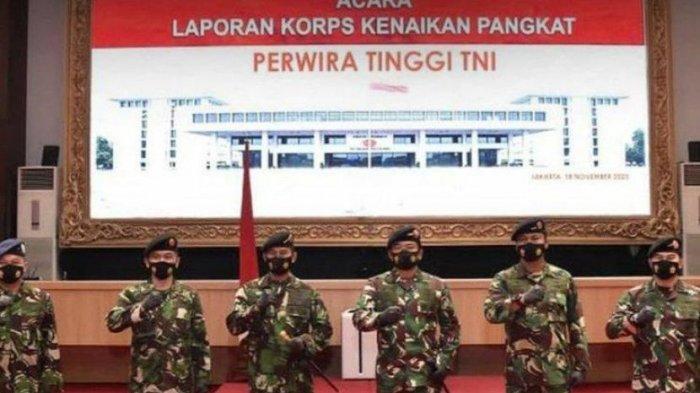 57 Perwira Tinggi TNI AD, AL dan AU Baru Saja Naik Pangkat, Ini Daftarnya