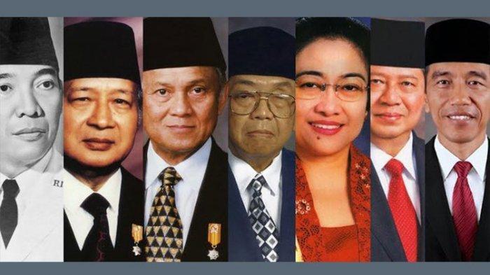 Perbandingan Gaji 7 Presiden Indonesia, Soekarno Rp 1.000, Soeharto Melonjak, Jokowi Tak Naik