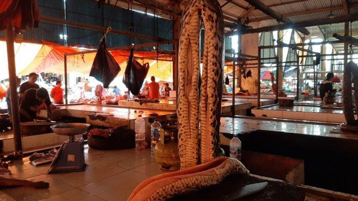 Daging Satwa Liar Masih Tetap Dijual Bebas di Pasar Beriman Tomohon