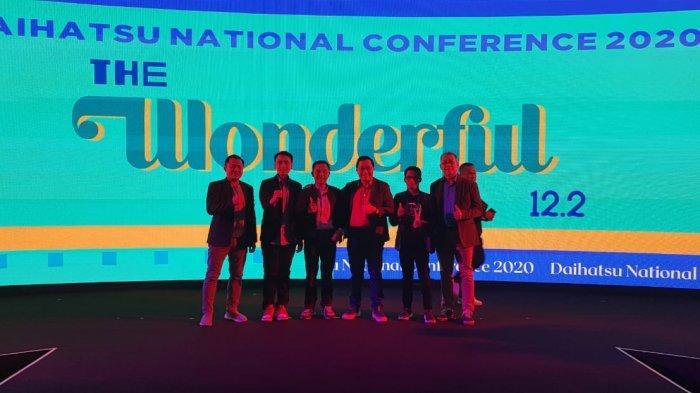 Daihatsu Malalayang Raih The Best Outlet dalam Daihatsu National Conference 2020