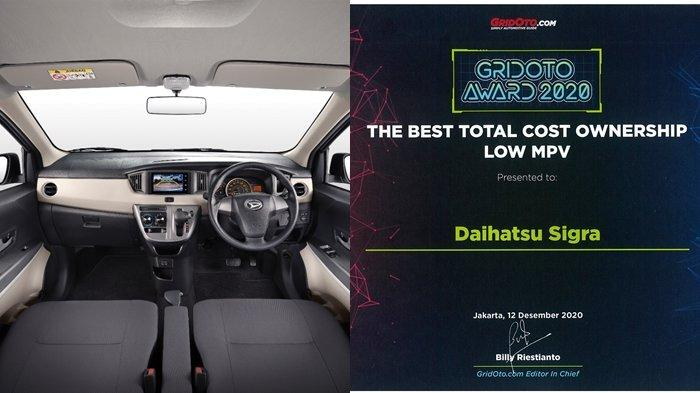 Daihatsu Sigra Raih Penghargaan 'The Best Total Cost Ownership'