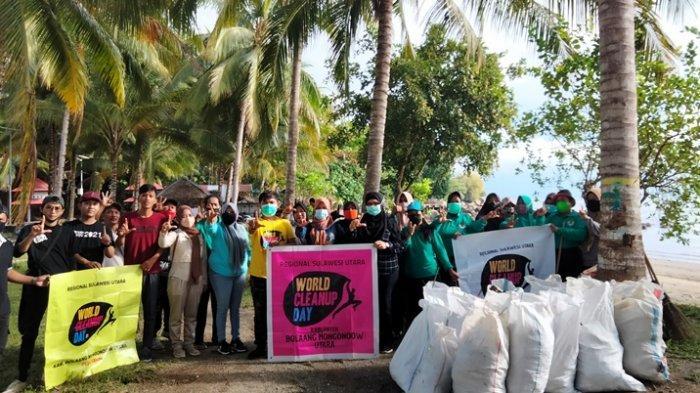 Gelar Aksi Bersih-bersih Sedunia, WCD dan DLH Bolmut Gandeng Tangan Perangi Sampah