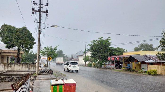 Antisipasi Bibit Siklon Tropis 94W, BPBD Bolsel Keluarkan Peringatan Dini Soal Cuaca Ekstrem