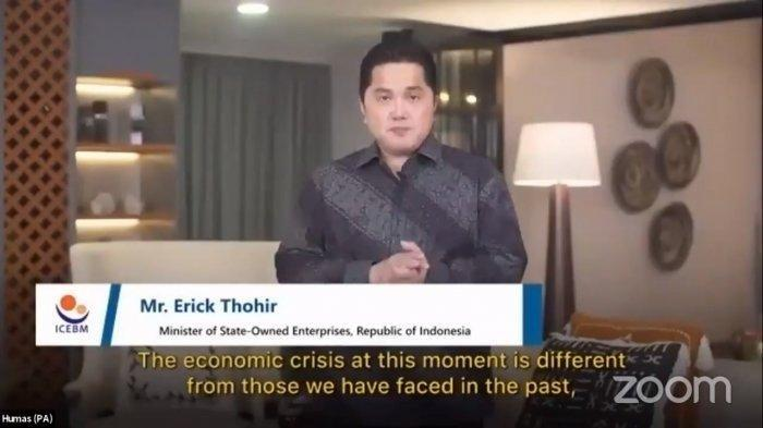 Erick Thohir Klaim Angka Penularan Covid-19 Turun Drastis, Ungkap Kabar Baik soal Vaksin Merah Putih